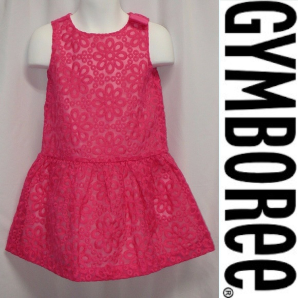 NWT CARTERS GIRLS NEWBORN FUCHSIA DRESS /& DIAPER COVER SET PARTY DRESS Hot Pink